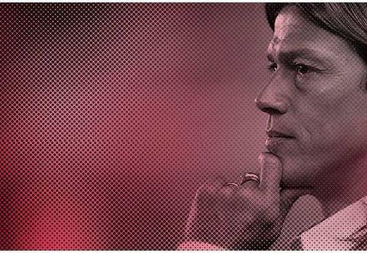 Imagen de Matías Almeyda con la que el club Chivas Rayadas de Guadalajara dio, en la página web oficial del club, la bienvenida a Matías Almeyda, nuevo DT del club.