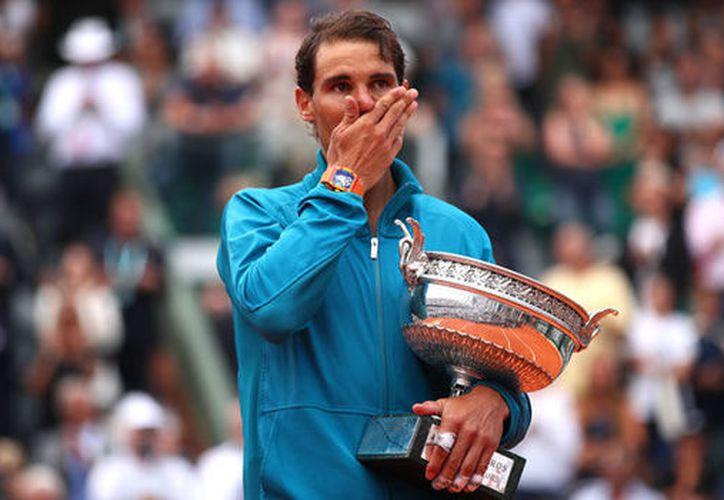 El tenista se consolidó como el máximo ganador de todos los tiempos del Roland Garros. (express.co)