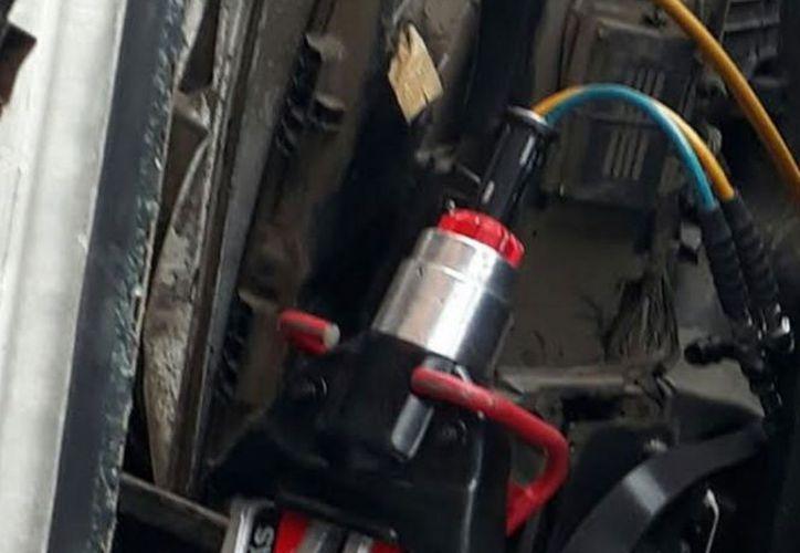 El equipo que fue robado era utilizado para atender primeros auxilios. (excelsior.com)