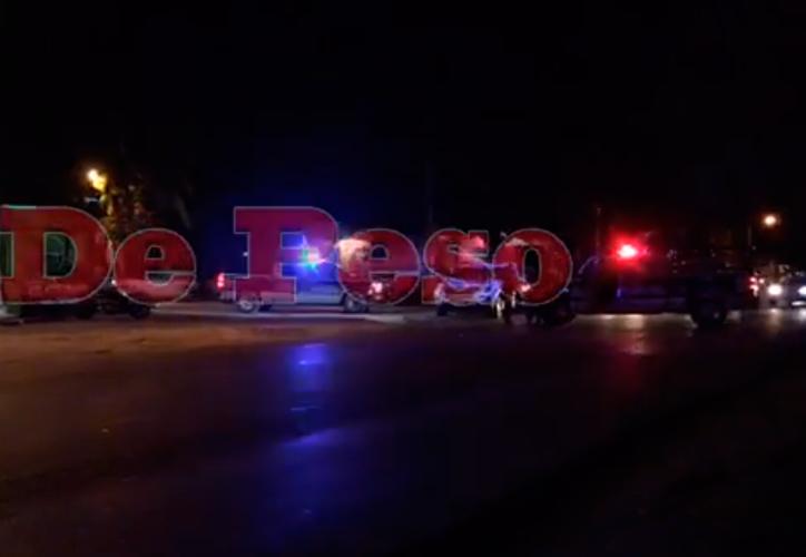 El sujeto fue atacado por los sicarios en el cruce de las avenidas Leona Vicario y Chac Moo. (Redacción/SIPSE)