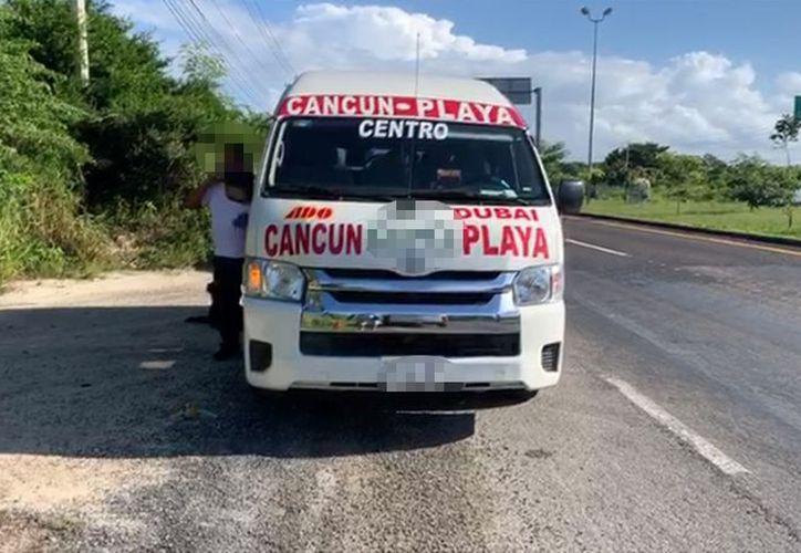 El presunto secuestro se registró durante un asalto en una Van de transporte público. (Redacción)