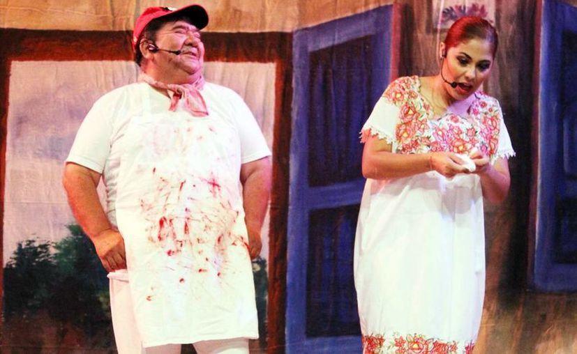 La puesta en escena de la obra 'Lo que el IVA me robó' incluye bailes, bombas y música tradicional. Se presentará hoy a las 20:00 horas en el teatro Armando Manzanero. (Milenio Novedades)