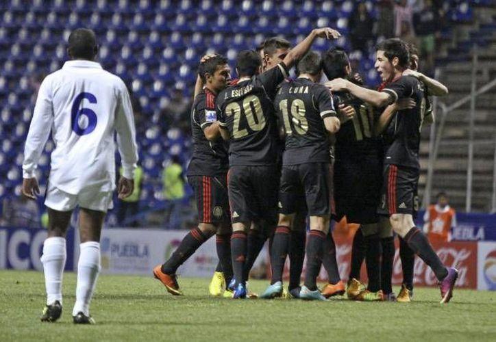 Varios jugadores de la Selección Mexicana sub-20 ya juegan en Primera División. (Notimex/Archivo)
