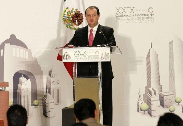El procurador del Distrito Federal, Rodolfo Ríos Garza, dijo que se tomarán medidas contra la extorsión telefónica. (Notimex)