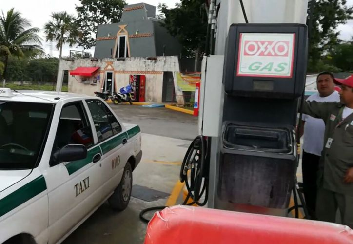 En Quintana Roo están participando empresas como La Gas y Oxxo Gas. (Ivette Ycos/SIPSE)