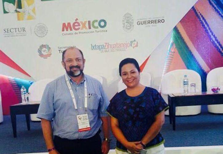 Cozumel participa en el Congreso Nacional de Turismo de Reuniones, realizado en Ixtapa, Zihuatanejo. (Cortesía)