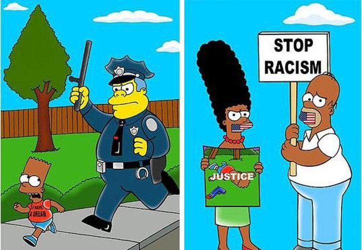 El artista quiso hacer eco de las muertes de varias personas de raza negra a manos de policías blancos. (peru21.pe)