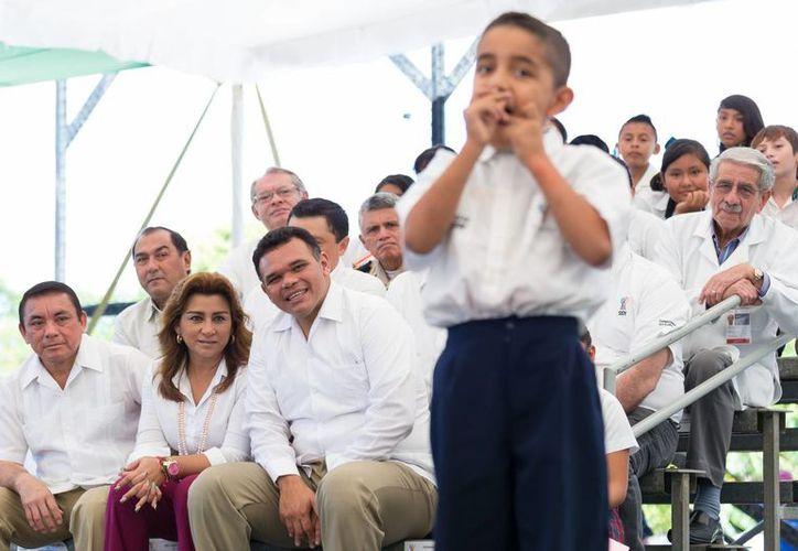El gobernador Rolando Zapata presidirá este martes el VII Congreso Mundial Brangus México 2014. (SIPSE)
