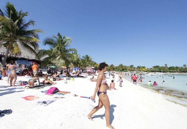Las playas de Tulum se verán en televisión española. (Redacción/SIPSE)