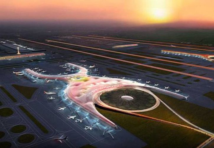 La construcción del edificio del nuevo Aeropuerto Internacional de la Ciudad de México lo realizará el consorcio encabezado por Edificadora Cicsa, del multimillonario Carlos Slim, la constructora ICA y la española FCC Construcción. (Foster and partners)
