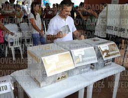 Vota Pedro Joaquín en Cozumel