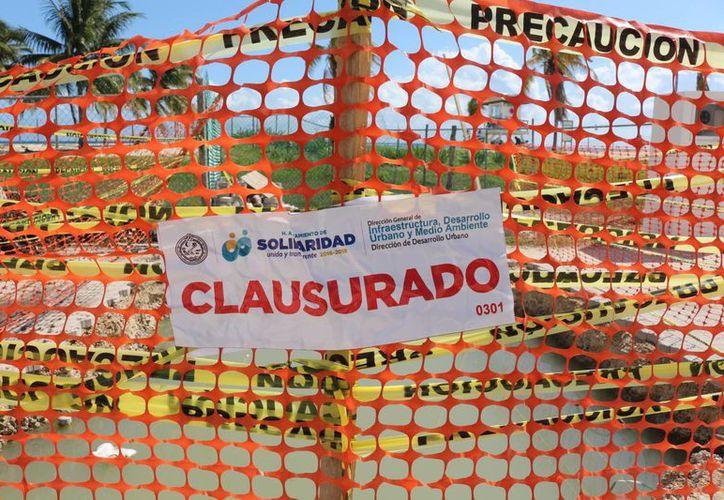 Las obras se extienden en la avenida CTM, desde la calle Cozumel y hasta la Albatros. (Octavio Martínez/ SIPSE)