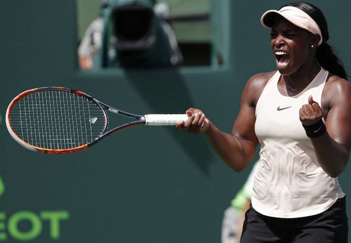 Sloane Stephens, monarca del tenis femenil internacional. (as.com)