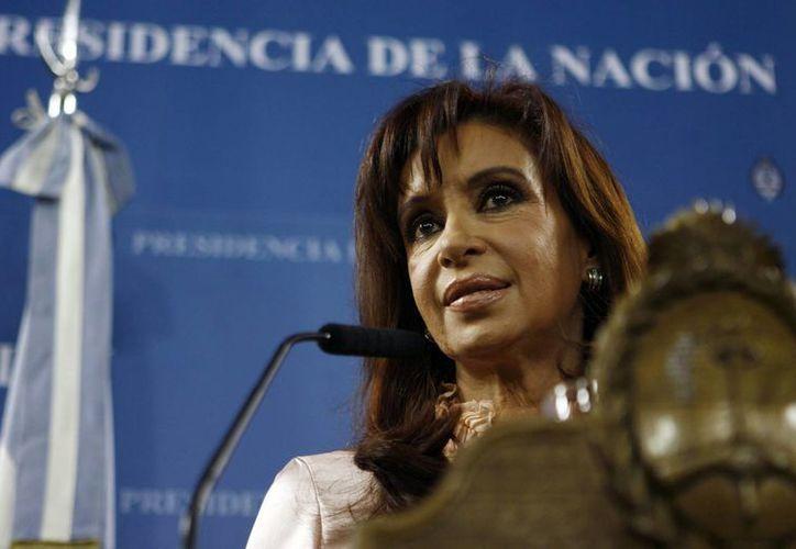 La Presidenta no podrá asistir a los festejos por el 198 aniversario de la Independencia Argentina. (EFE)
