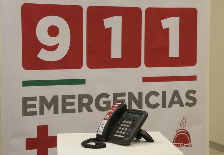 Por cada llamada de emergencia que se activa con el número de emergencia se instrumenta un operativo que implica un gasto operativo de hasta 100 mil pesos. (Notimex)