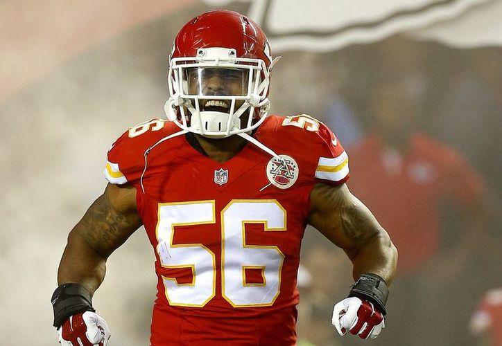 En el historial de Johnson con los Chiefs está el que jugó para cinco entrenadores en jefe y cuatro gerentes generales. (Contexto/ Internet)