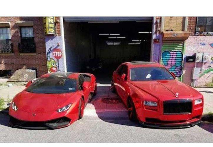 También adquirieron automóviles de lujo que cuestan cientos de miles de dólares. (Foto: Excélsior)