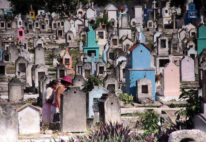 Se estima que el 60 por ciento de las bóvedas está en el olvido o sus dueños fallecieron y ya no hay algún familiar que las rescate.  (Foto: Milenio Novedades)