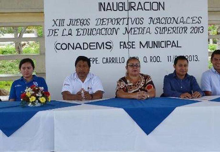 Entre las escuelas que participarán se encuentran, el Conalep, C.B.T.I.S 72, Bachillerato plantel Señor y plantel Tihosuco. (Redacción/SIPSE)