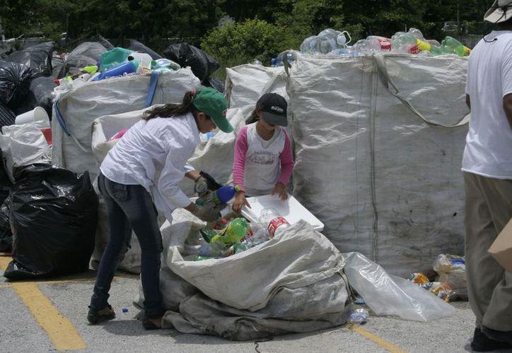 Los artículos destinados a la basura se les puede dar un segundo uso. (Tomás Álvarez/SIPSE)