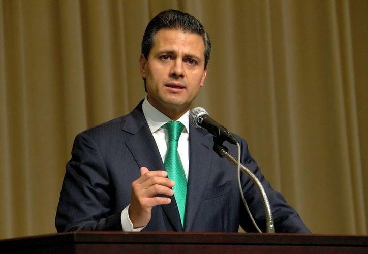 Enrique Peña Nieto ha expresado que busca reformar la manera en que gobierno paga la publicidad oficial. (Notimex)