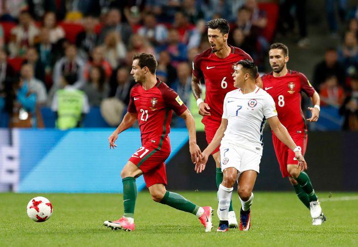 Chile pasa a la final de la Copa Confederaciones. (AP)