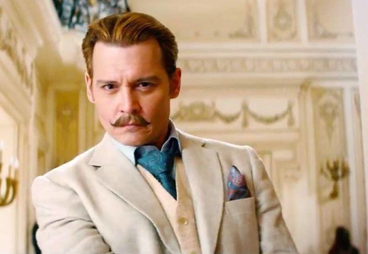 Johnny Depp protagoniza el filme Mortdecai. (Contexto/Internet)