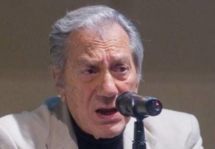Desde julio de 2012, cuando falleció su esposa Alma Guzmán, Joaquín Cordero casi dejó de salir a la escena pública. (MILENIO)