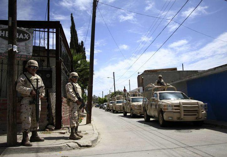 El Ejército tomo el control de la seguridad de la sierra de Guerrero. (Imagen de contexto de archivo/Notimex)