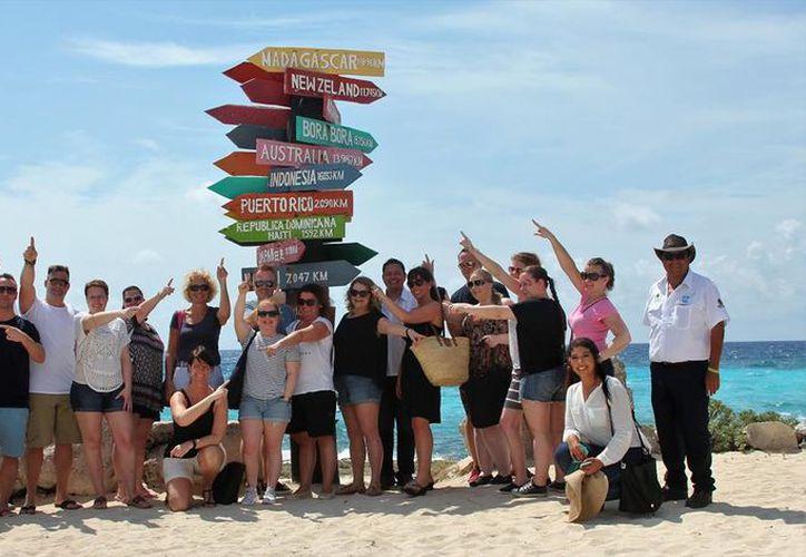 El turismo europeo destina una importante cantidad de dinero para sus viajes. (Gustavo Villegas/ SIPSE)