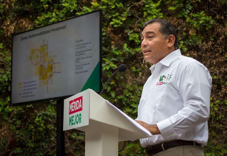 El comandante de la policía municipal será nombrado a propuesta del secretario de Seguridad Pública de Yucatán, resalta Caballero Durán entre sus propuestas. (Milenio Novedades)