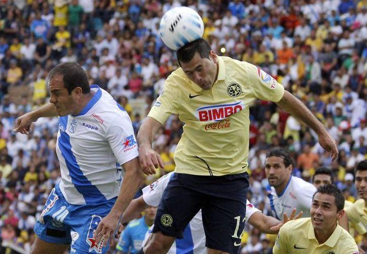 Vencer 4-0 al Puebla permitió a las Águilas apoderarse en solitario del primer sitio de la tabla general. (Notimex)