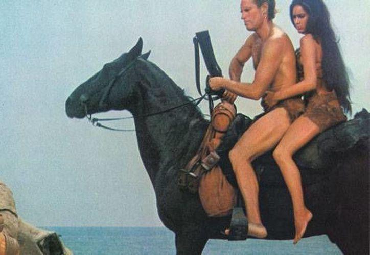 Escena de la película El Planeta de los Simios de 1968, la primera de la saga. (dtlux.com)