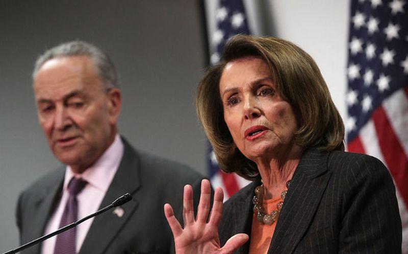 Líderes demócratas cancelan cita con Trump sobre presupuesto — EEUU