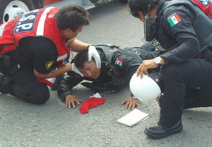 Uno de los heridos se reporta grave. (Archivo SIPSE)