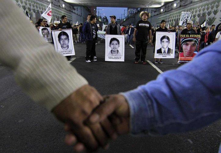 Integrantes del GIEI presentarán conclusiones y recomendaciones finales sobre los desaparecidos de Ayotzinapa el próximo domingo 24 de abril. (Notimex/archivo)