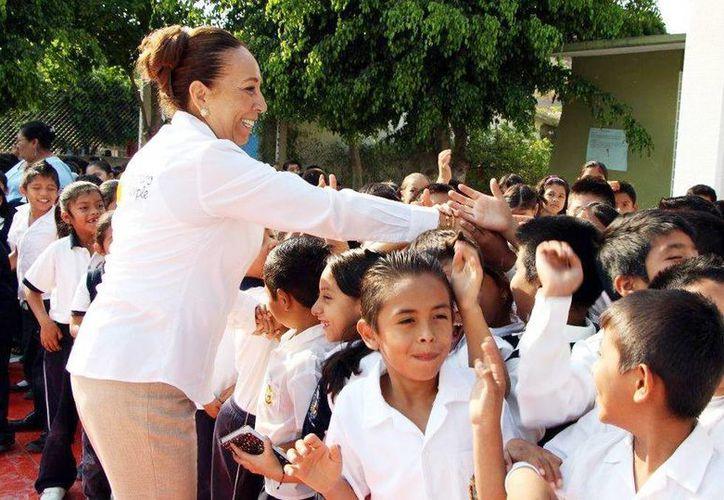 Silvia Romero Suárez, extitular de la Secretaría de Educación Guerrero y candidata del PRD fue privada de su libertad la noche del martes. (Facebook Silvia Romero)