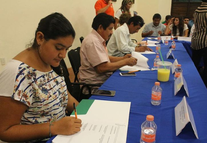 Algunos de los participantes reprocharon la falta de compromiso de otras autoridades que no estuvieron presentes. (Benjamín Pat/SIPSE)