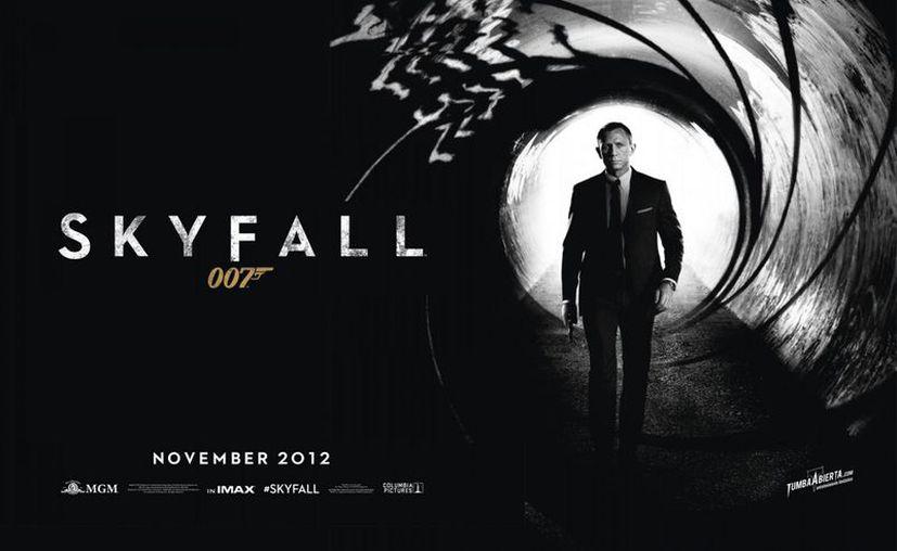 'Es el filme de James Bond más exitoso de todos los tiempos'. (Internet)
