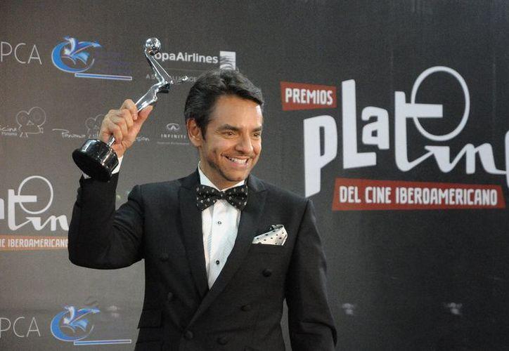 Eugenio Derbez se encargará de conducir la quinta edición de los Premios Platino. (Foto: Contexto)