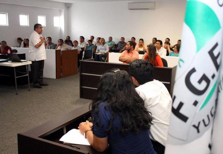 Durante varios meses se han realizado cursos sobre oralidad en juicios mercantiles. (Milenio Novedades)