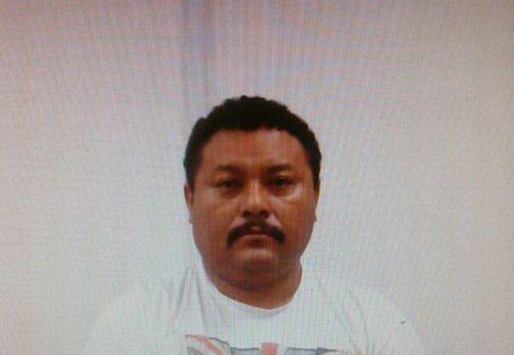 Didier Saturnino León Ceballos había sido detenido el 10 de julio, pero salió en libertad por faltas de elementos. (Jorge Sosa/SIPSE)