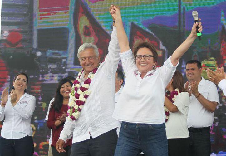 La candidata panista Lili Campos propone un juicio político contra la presidenta municipal de Solidaridad, Laura Beristaín. (Archivo)