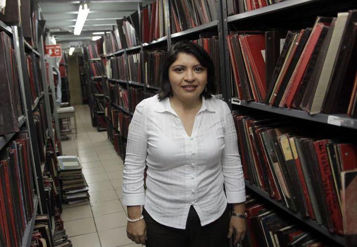 Martha Góngora Sánchez, directora del Registro Civil de Yucatán. (Milenio Novedades)