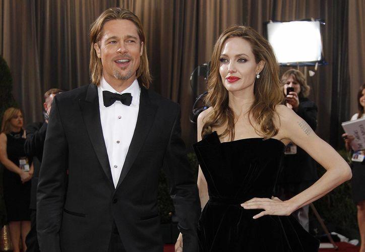 """""""El cáncer ya no me quitará a mi familia"""", expresó el actor Brad Pitt, tras conocerse la noticia de que su esposa se había quitado ambos senos. (Agencias/Archivo)"""
