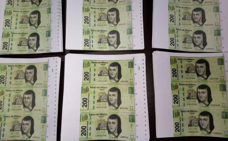 Cae hombre con $42 mil en billetes falsos en Culiacán