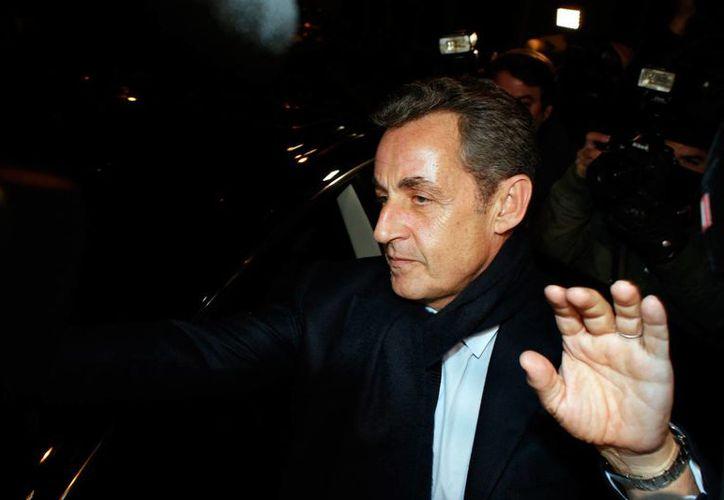 Nicolas Sarkozy había sido el claro favorito para ganar la votación para líder del Unión para un Movimiento Popular en los comicios internos. (Agencias)