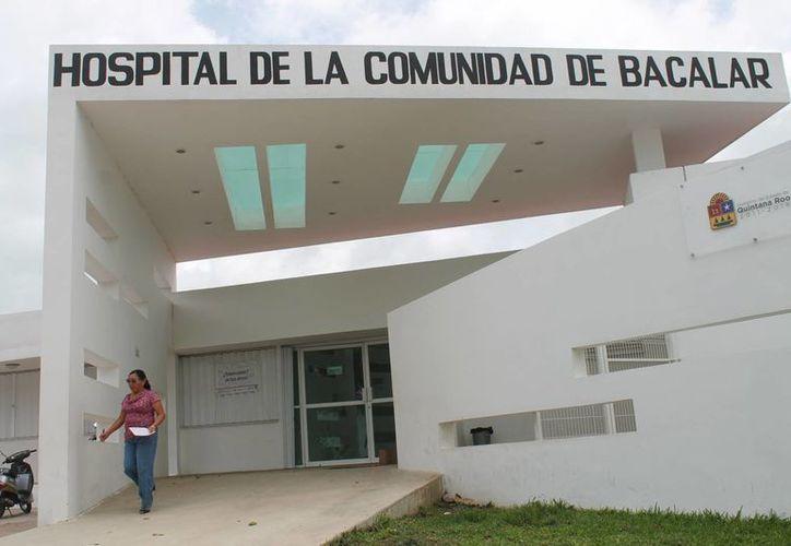 El Centro de Salud afilia  diariamente de 30 a 40 personas al Seguro Popular. (Carlos Horta/SIPSE)