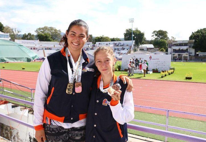 El segundo latón para Quintana Roo lo consiguió Ana Sofía Esquivel en los 800 metros planos. (Ángel Mazariego/SIPSE)