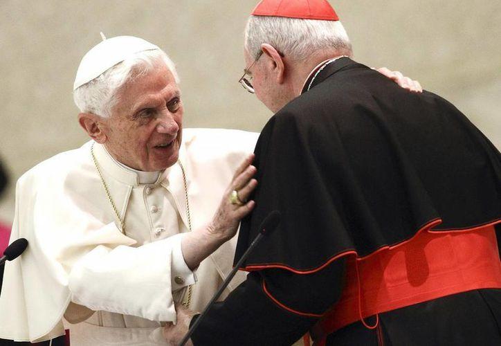 El papa nombró tres nuevos funcion arios del estado Vaticano. (EFE)